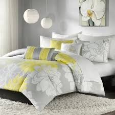 Yellow And Grey Bed Set Buy Yellow Grey Duvet Covers From Bed Bath Beyond