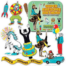 awesome birthday mini decorations archie mcphee co