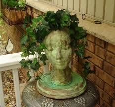 Medusa Planter Astounding Head Planters For Sale 20 For Your Interior Decor