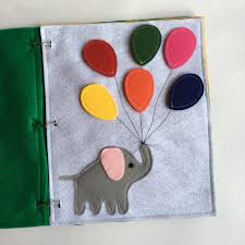 elephant quiet book page color matching quiet books toddler