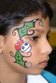 128 best face painting christmas images on pinterest body