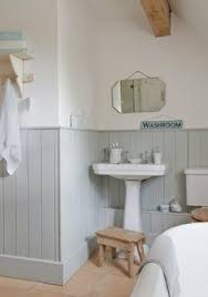 panelled bathroom ideas the blue grey panels and white bathroom ideas