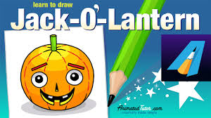 halloween jack o u0027 lantern how to draw a jack o u0027 lantern cute