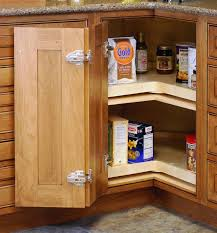 Kitchen Corner Cabinet Storage Solutions 65 Most Showy Kitchen Corner Cabinet Storage Solutions Custom Wood