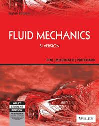 fox and mcdonald u0027s introduction to fluid mechanics 8th ed si