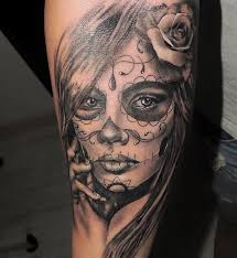 die besten 25 la muerte tattoo ideen auf pinterest la catrina