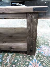 oxidized x coffee table