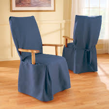 emejing dining room chair slipcovers with arms images home