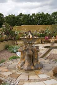 Types Of Pavers For Patio Patio With Different Types Of Pavers Water Feature
