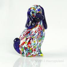 murano glass figurine by imperio marcopoloni