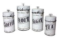 black and white kitchen canisters kitchen canisters ebay