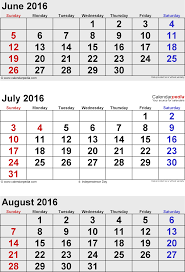 printable monthly calendars august 2015 august 2016 calendars for word excel pdf