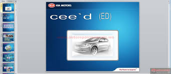 kia ed introduction kme auto repair manual forum heavy
