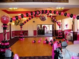 school prom decor decorating of