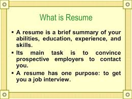 what is resume technical writing resume what is resume a resume is a brief
