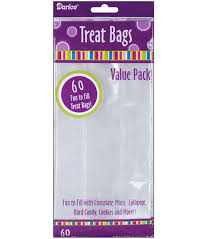 treat bags 4 x9 treat bags 60pk clear joann
