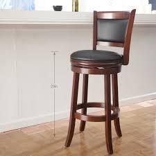bar stools appealing wood and metal swivel bar stools white