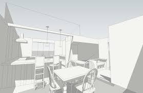 Kitchen Design Sketch I N G R A M A R C H I T E C T S Kitchen Design
