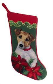 needlepoint christmas christmas needlepoint dog breed bow