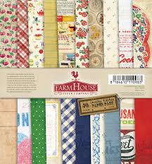 the kitchen collection llc farm house 6 x 6 country kitchen paper pad