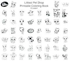 littlest pet shop coloring pages of dogs littlest pet shop coloring page new full size of my little simple