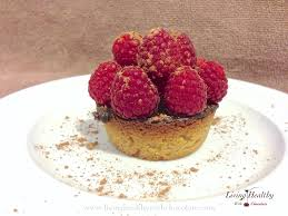 paleo raspberry chocolate tart living healthy with chocolate