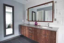 Contemporary Bathroom Photos by Sleek Master Bathroom Vanity Contemporary Bathroom