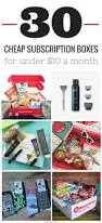 30 cheap subscription boxes for 10 or less box gift and cheap