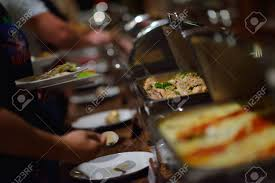 cuisine restauration restauration buffet à l intérieur de la cuisine du restaurant de