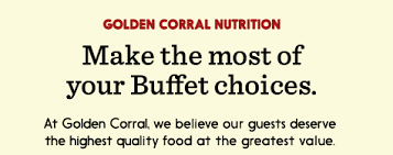 Buffet Prices At Golden Corral by Menu Golden Corral