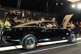 1969 Mustang Fastback Black 1969 Ford Mustang Boss 429 Sells For 275 000 Muscle Cars Zone