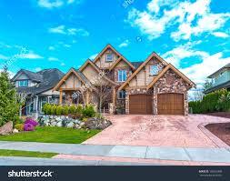 Custom Luxury Floor Plans by Custom Built Big Luxury House With Triple Doors Garage In A