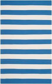 Blue White Striped Rug Rug Mtk712c Montauk Area Rugs By Safavieh