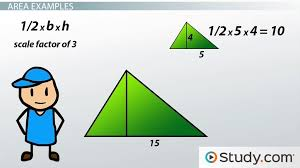 applying scale factors to perimeter area and volume of similar