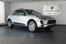 porsche macan 2015 for sale 2017 porsche macan 4 cylinder for sale in colorado springs co