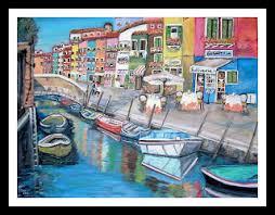 Burano Italy Art And Travel By Teresa Dominici Burano Italy