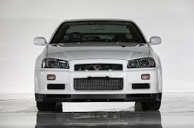 this is what a nissan skyline r34 gt r vspec ii nür with 10km