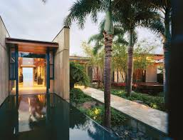 Balinese Home Decorating Ideas Bali Style House Design Front Yard Elegant Pool Gray Curtain White
