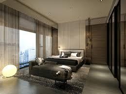 Residential Interior Designing Services by Service Apartment Interior Design Mocha Unit 01 Master Bed Rev