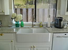 acrylic undermount kitchen sinks interior rectangek white sink on white wooden kitchen cabinet