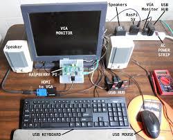 hobby electronix raspberry pi hdmi to vga converter