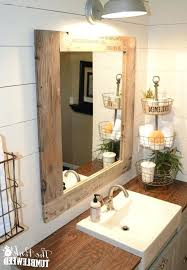 Oak Framed Bathroom Mirror Oak Framed Bathroom Mirrors Reclaimed Wood Mirror Large Mirror