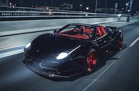 ferrari 458 liberty walk slammed liberty walk ferrari 458 spider is insane performancedrive