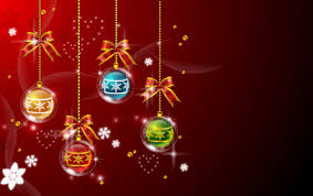 marry christmas baubles vector background ornaments webbyarts