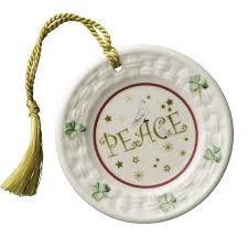 belleek annual peace plate ornament 2016 belleek