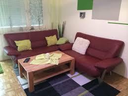 2x ledersofa wohnzimmer tisch jpg