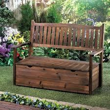 Outdoor Storage Bench Seat Storage Bench Garden U2013 Exhort Me