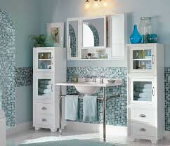 pottery barn bathroom mirror with cabinet storage home interior