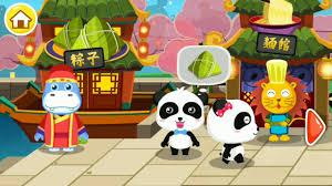 animation cuisine kartun animasi anak panda lucu membuat masakan cina