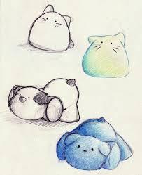cute animal drawings easy